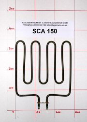 1500W Sauna Stove Element SCA-150