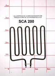 2000W Sauna Stove Element SCA-200