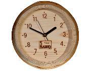 'Sauna Bucket' Clock