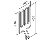 1800W Sauna Stove Element SS-EM1800