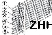 2000W Sauna Stove Element SS-EH2000-HH
