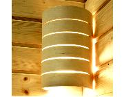 This is the 'Raita' type Sauna Light, the only type these parts will fit