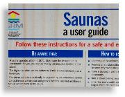 Sauna Safety Poster (Commercial)