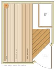 1500 x 1800 Corner Door