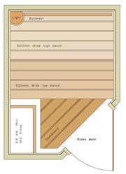 1600 x 1200 Corner Door