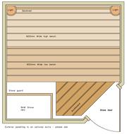 1800 x 1800 Corner Door
