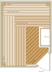 2000 x 2600 Corner Door