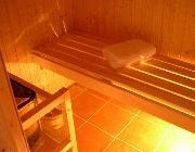 Mr Traynor's finished Sauna!