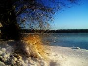 As winter comes to the lakeside...