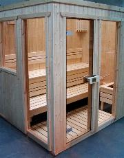 An example of the way we use Quality Sauna Panelling
