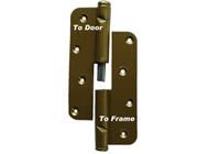 Wooden Door Hinge, (Pair) two-piece LEFT Substitute