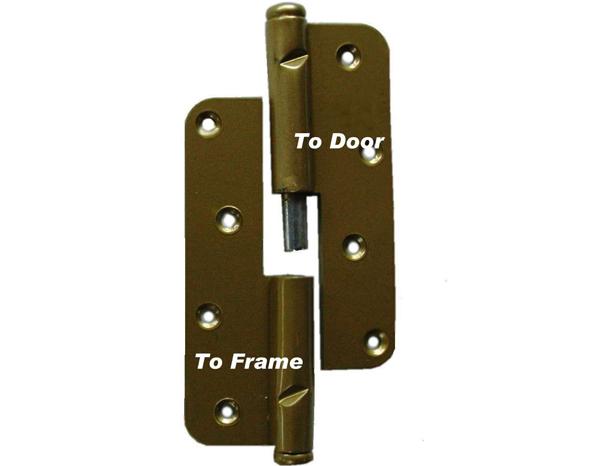 How to Fix a Broken Wood Door Hinge | eHow.com