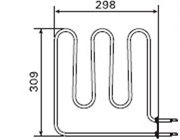 1500W Sauna Stove Element SS-EL1500