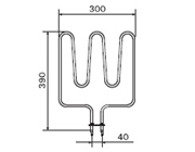 1500W Sauna Stove Element SS-EB1500