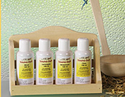 Sauna Essence Set with Wall Shelf