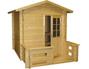 View more on Kuikka Solid-Log Outdoor Sauna 2m x 2m