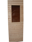 Sauna Wall Panels with Windows - Special Discount Pack