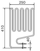 2000W Sauna Stove Element SS-EH2000-LE-SE-CL-EL