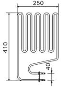 1500W Sauna Stove Element SS-EH1500-LE-SE-CL-EL