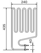 2150W Sauna Stove Element SS-EH2150-CL