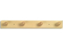 View more on Natural Wood Robe Hook - 4 Pegs