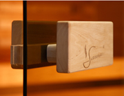 Door Handle Set for SNX Classic Sauna Door