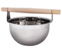 View more on Stainless Steel Sauna Bucket with Wooden Handle - 5 Litre