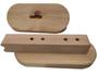 View more on Door Handle Set for Harvia Sauna Door (2 hole fix)
